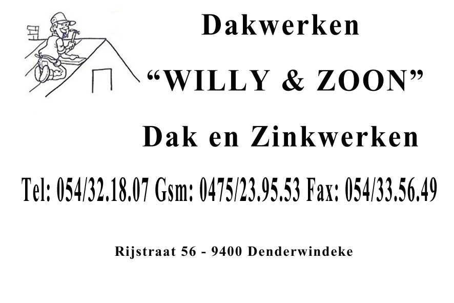 Dakwerken Willy en zoon