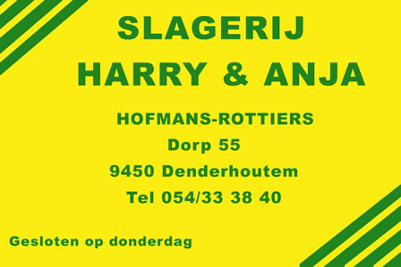 Slagerij Harry en Anja